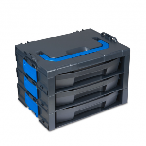 i-BOXX G postolje sa 3 pregrade + LS fioke